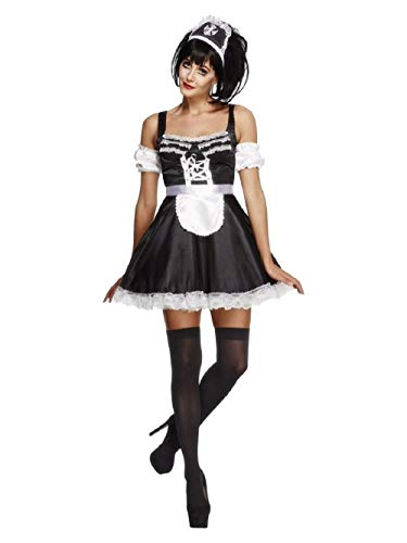 Smiffys Fever Flirty French Maid Costume
