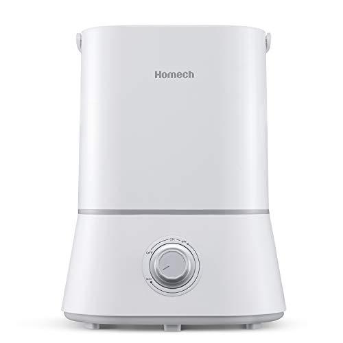 Homech Cool Mist Humidifier, Quiet Ultrasonic...