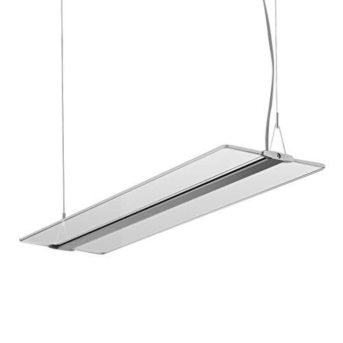KJLARS LED Pendelleuchte Hoehenverstellbar 48W Dimmbar Hängeleuchte Pendellampe für Büro LED Panel Hängelampe, für esstisch Büroleuchte Schlafzimmerleuchte Wohnzimmerlampe