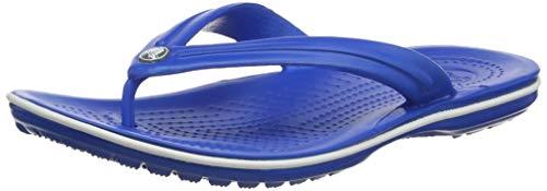 Crocs Crocband Flip 11033, Infradito Unisex Adulto, Blu (Bright Cobalt/White 4kg), 39-40 (Talla...