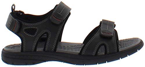 Khombu Men's Black River EVA Sandal Shoes (13)