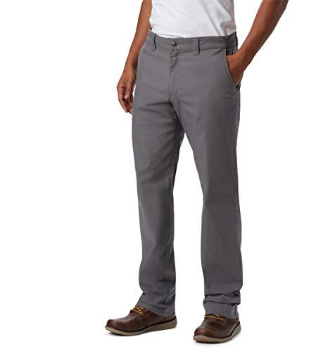 Columbia Men's Flex ROC Pant, City Grey, 38x34