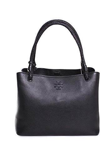 TORY BURCH TAYLOR TRIPLE-COMPARTMENT TOTE BLACK