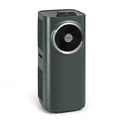 KLARSTEIN Kraftwerk Smart - Climatiseur Mobile, Déshumidificateur, Ventilateur, Minuterie programmable, Contrôle Via Application WiFi, Télécommande, 10000BTU/h - Anthracite