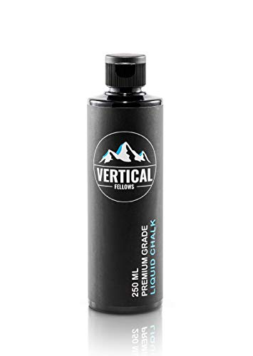 VERTICAL FELLOWS 250 ml Liquid Chalk – Tiza líquida para escalada,...