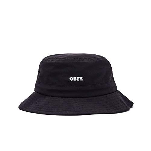 OBEY Cappello Unisex Bold Jazz Bucket Hat 100520049.Blk