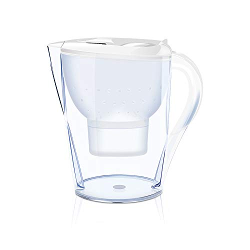 Dark Edge 2.5 LTR Activated Carbon Water Filter jug/Pitcher (White)