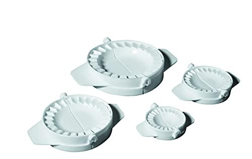 IBILI 707700 - Set 4 Molde Empanadillas, Blanco, 20 x 20 x 7 cm