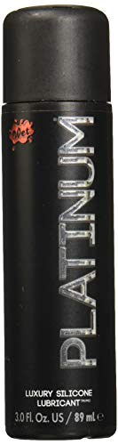Wet Platinum Luxury Silicone Lubricant, 3.0 oz, 89 ml