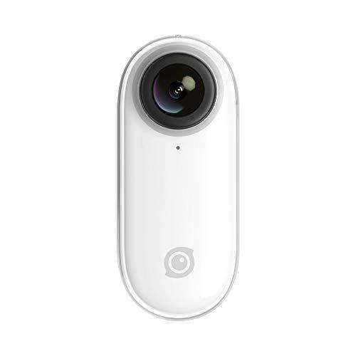 Insta360 Go Videocamera Stabilizzata Flowstate, Resistente all'Acqua, Utilizzo HandsFree, Slow-Motion, Bianca