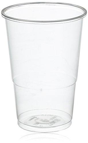 Mical Vaso Transparente plástico 330cc 100u, 100