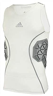 85% Polyester / 15% Spandex body Porom XRD Pad system is the most protective pad system in the game TPU covered pads Ventilated climacool helps keep you cool and dry Heat transfer Adidas logo