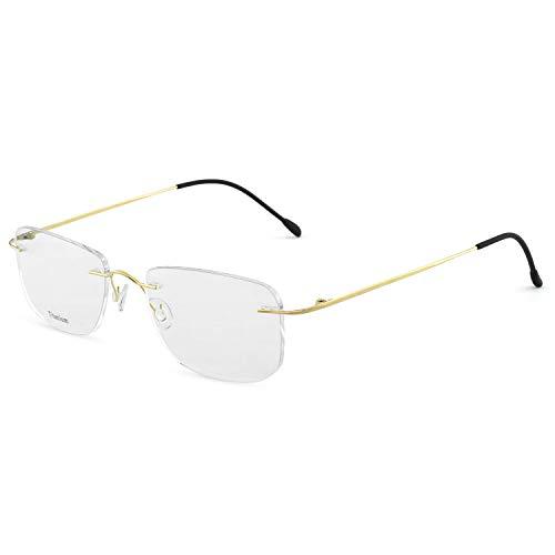 OCCI CHIARI Marco óptico de los gafas Gafas de hombre marco Lentes sin receta para lentes de alta definición para hombre