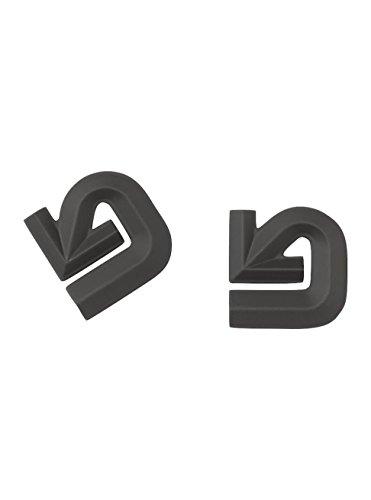 Burton Aluminium Logo Mat, Antiscivolo Snowboard Uomo, Nero, Taglia Unica