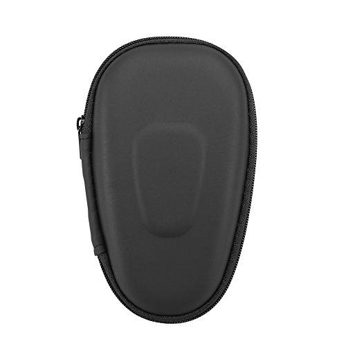 Custodia di stoccaggio rasoio, borsa da viaggio protettiva con doppio rasoio Rasoio elettrico Custodia rigida in EVA(nero)