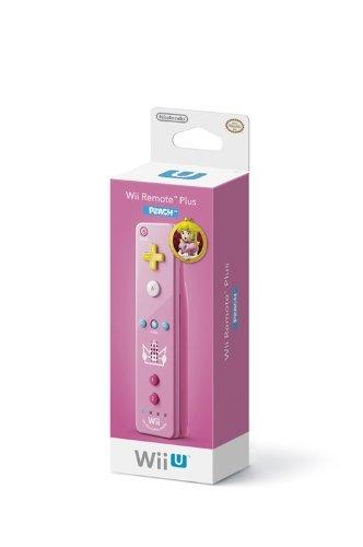 Wii Remote Plus: Princess - Peach (Renewed)