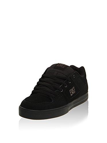DC Men's Pure Casual Skate Shoe, Black/Pirate Black, 11 D US