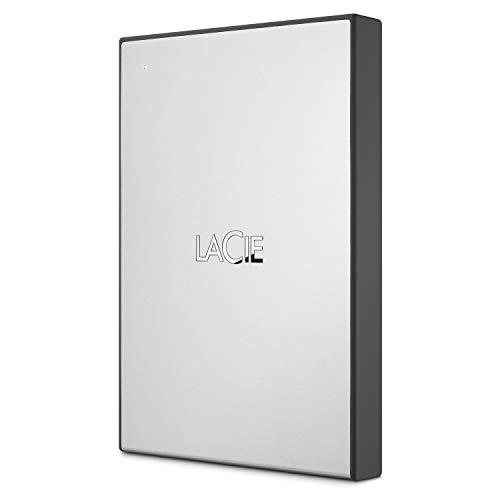 LaCie USB 3.0 Drive, 2 TB, disco duro externo portátil para Mac y PC,...