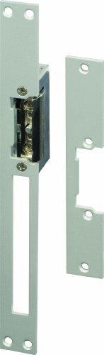 SCS Sentinel SEN4131181 Portail-Serrure Automatique Fil-Gâche Électrique LockElek 301 avec 2 Têtières Reversibles en Acier-AAA0011, Gris
