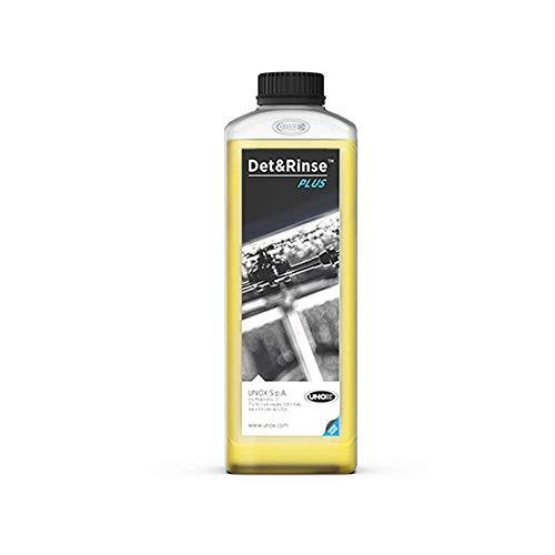 Detergente Det&Rinse per Forno Unox Cheftop o Barkertop, Confezione da 10 Pezzi da 1 l ciascuno