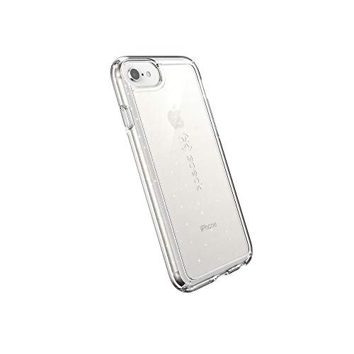 Speck Products GemShell iPhone SE 2020 Case/iPhone 8/7/6S - Clear with Gold Glitter/Clear