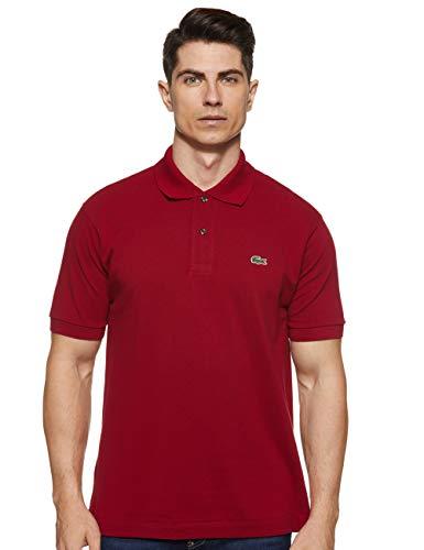 Lacoste L1212 T-Shirt Polo, Uomo, Rosso, M