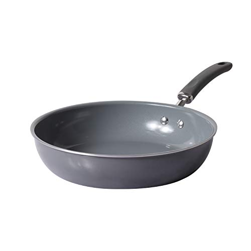Meyer Anzen Healthy Ceramic Coated Cookware Frypan, 28cm, Aluminum, Grey