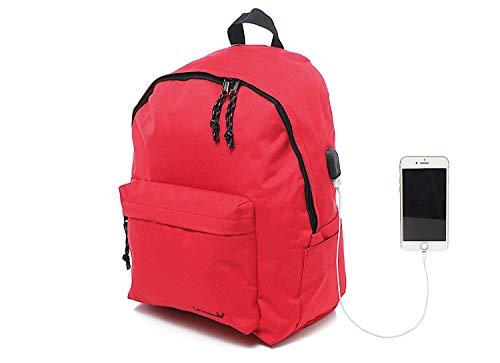 Leonardo Zaino scuola con Lucchetto e ricarica USB, Zaino scuola elementare media superiore e...