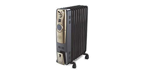 Bajaj Majesty OFR RH 9 Plus Oil 2000-Watt Room Heater (Black)