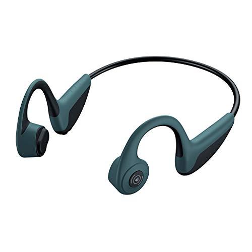 Cuffie Wireless a conduzione ossea Bluetooth Senza Fili a Orecchio Aperto, Auricolari Sportivi Leggeri IPX4 Auricolari BT 5.0 Impermeabili per Jogging Corsa in Bicicletta Z8 Auricolare antisudore
