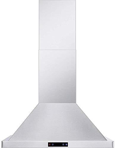 "6. Cavaliere CAV-B02 (CL).30"" Wall Mounted Range Hood"