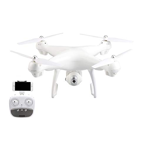 GPS Drone, 720P HD WiFi Camcorder RC Drone Quadro del Telecomando 2.4 GHz con Funzione grandangolare - Esperienza di Volo Regolabile con Tempo di Volo Fino a 30 Minuti