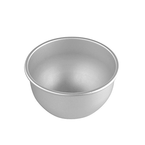 Dealglad® - Tortiera emisferica profonda, in alluminio, stampo per budini, ciambelloni e altre...