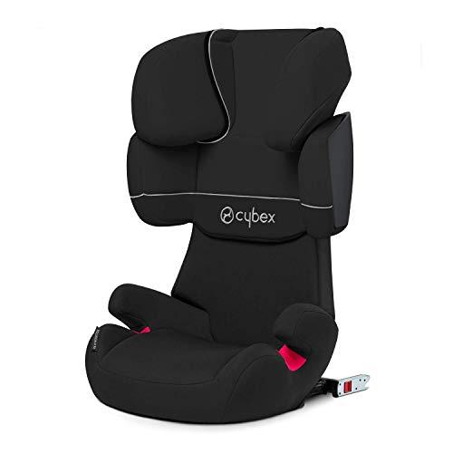 Cybex Silver Solution X-fix, Autositz Gruppe 2/3 (15-36 kg), mit Isofix, Kollektion 2018, Pure Black