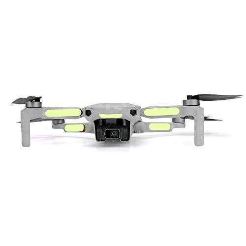 Hensych 2 adesivi luminosi leggeri fluorescenti, decorazione della pelle, per Mavic mini/Mavic Mini 2 droni