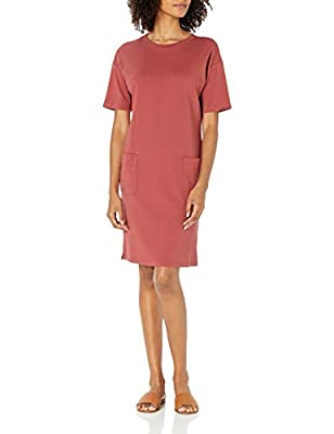 A wardrobe staple, this t-shirt dress with patch pockets is as comfortable as it is stylish The perfect blend of cotton and modal is used in this knit fabric to create a soft, stretchy fabric that is easy care Start every outfit with Daily Ritual's r...