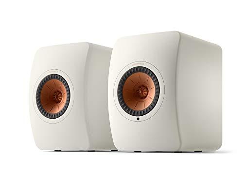 KEF LS50 Wireless II WLAN HiFi Lautsprecher System, Weiss, Aktivlautsprecher | HDMI | Airplay 2 | Bluetooth | Spotify | Tidal