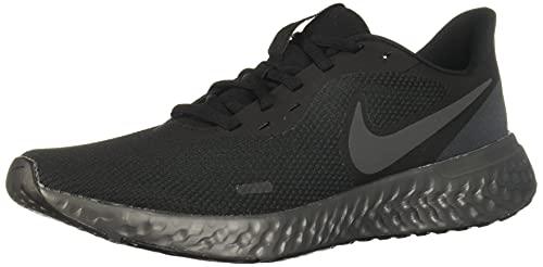 Nike Revolution 5, Zapatillas Hombre, Black Anthracite 204, 42.5 EU