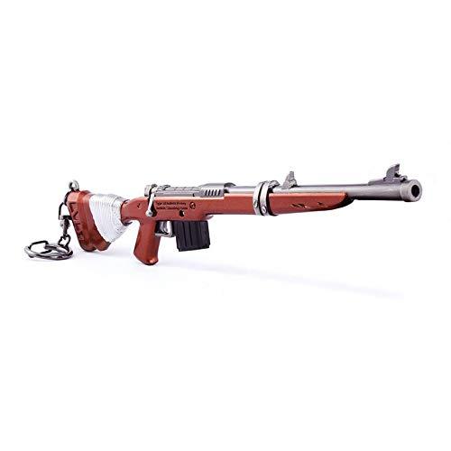 chaorui Games Collection 1/6 Metal Rojo Shotgun Modelo Figura de acción Juguetes Collection Llavero Regalo