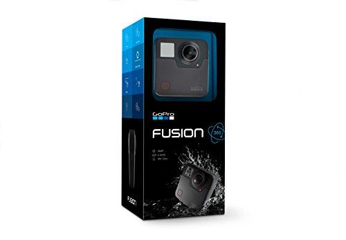 GoPro Fusion Fotocamera da 18 MP, 30 fps, Impermeabile fino a 5 m, Nero