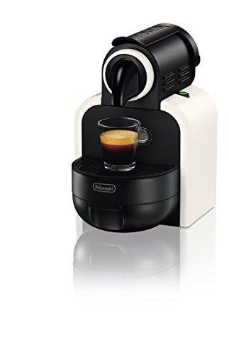 Nespresso EN97.W Essenza Macchina per Caffè Espresso, Sistema a Capsule, Thermoblock, Bianco Sand