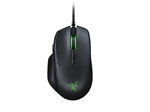 Razer Basilisk MOBA / MMO Maus - Kabelgebundene FPS Gaming Mouse (mit echtem 16,000 DPI 5G optischem Sensor, abnehmbarer DPI-Switch und anpassbarem Scrollrad, mit Kabel)