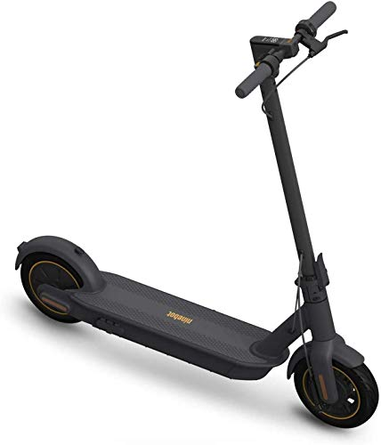 Segway Ninebot MAX Electric Kick Scooter Up to 40.4 Miles Long-range Battery Max Speed 18.6 MPH Foldable and Portable Dark Grey