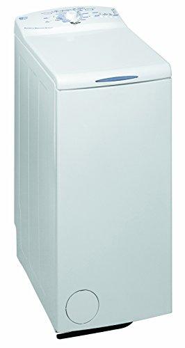 Whirlpool AWE6010 Libera installazione Caricamento dall'alto 6kg 1000Giri/min A++ Bianco lavatrice