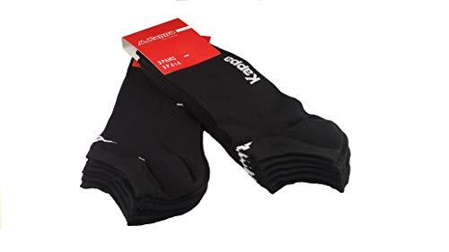 6 paia calzini KAPPA , calzini fantasmini invisibili ,calzini sneakers in cotone ,modello unisex,...