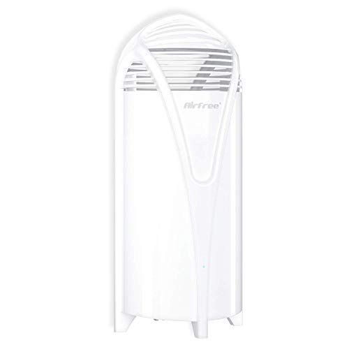 AIRFREE T800 Filterless Air Purifier - Quiet, Small and Portable, Eliminate Allergen, Dust Mites, Dander, Best for Rooms up to 180 Square Feet, White