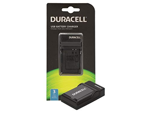 Duracell DRF5982 carica batterie Nero Caricabatteria per interni