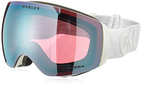 Oakley Flight Deck XM Snow Goggles, Factory Pilot Whiteout, Prizm Sapphire Iridium, Medium