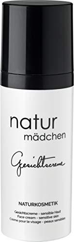 Feuchtigkeitscreme u. Gesichtscreme für Damen von naturmädchen 50ml – Anti-Aging u. Tagescreme mit Hyaluronsäure – Vegan skincare - Made in Germany