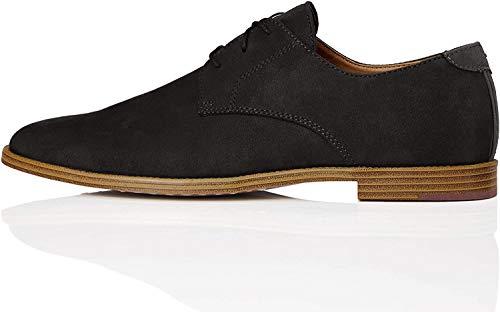 find. Zapato Clásico con Cordones para Hombre, Negro (Black), 43 EU